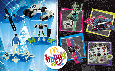 """Happy Meal """"Monster High & Max Steel"""""""