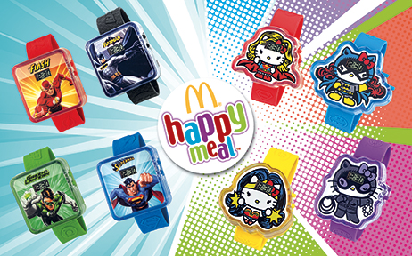 "Happy Meal ""Hello Kitty / DC комикси"""