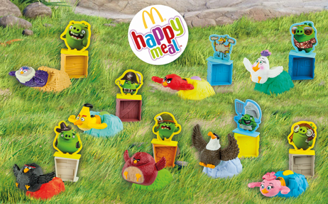 "Happy Meal Books и ""Angry Birds"""
