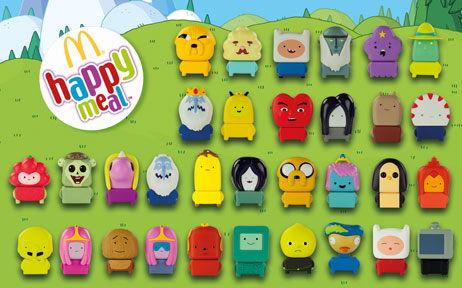 "Happy Meal ""Adventure time"""