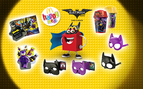 "Happy Meal ""Lego Batman"""