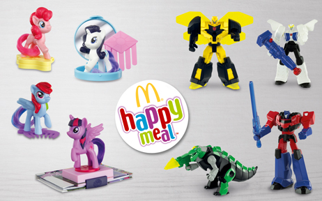 """Happy Meal """"My Little Pony & Transformers"""""""